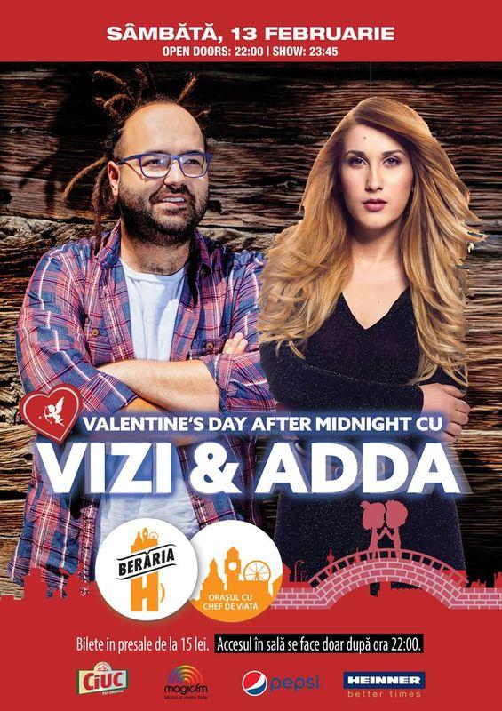 Afiş Vizi Imre şi Adda Concert Berăria H 2016