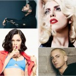 Jessie J / Lady Gaga / Eminem / The Weeknd