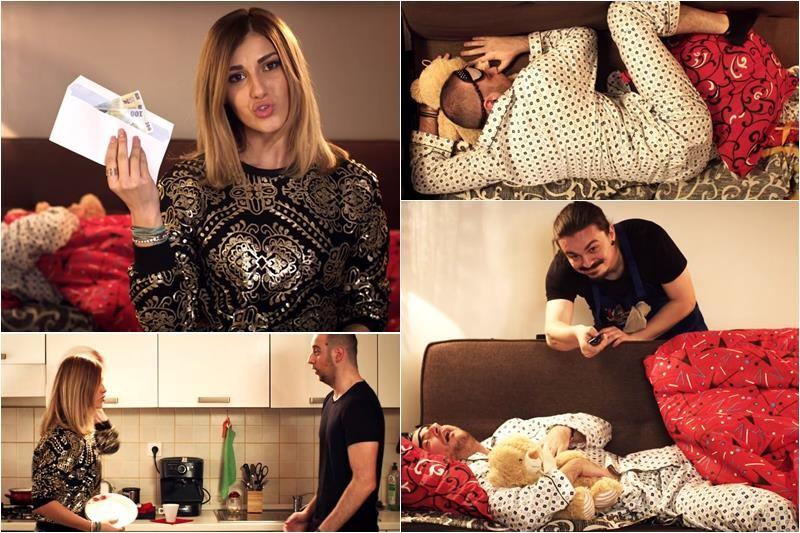 "Sergiu și Andrei & Alina Eremia - ""Dorm În Sufragerie"" (parodie ""A fost o nebunie"")"