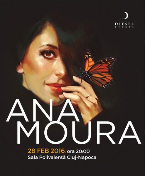 Afis Ana Moura Concert Cluj Napoca 2016