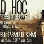 Afiș Ad Hoc Concert Clubul Tanarului Roman 2016