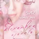 Afiş Alexandra Usurelu Concert Biutiful 2016