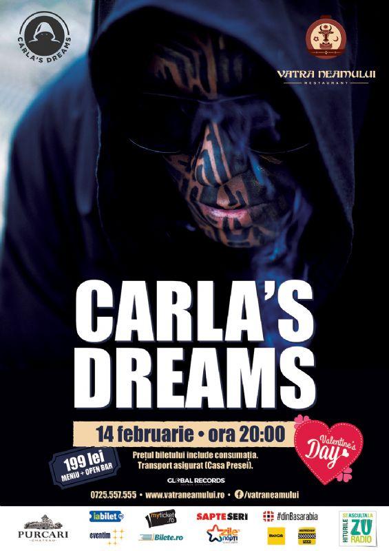 Afiş Carla s Dreams Concert Vatra Neamului 2016