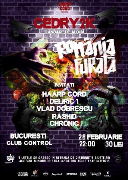 Afiş Cedry2k Concert 2016