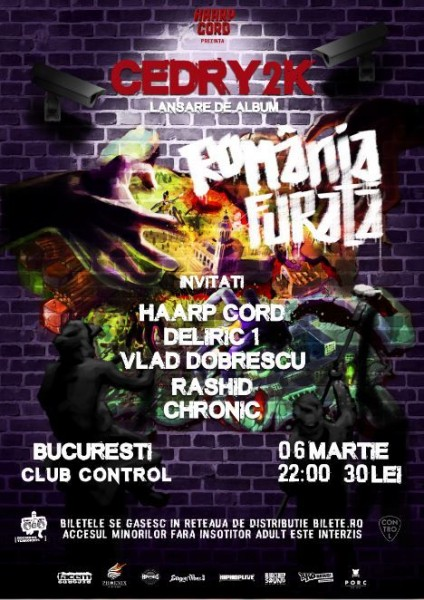 Afiş Cedry2k Concert Control 2016