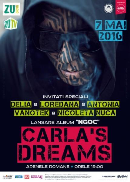 Poster eveniment Carla's Dreams