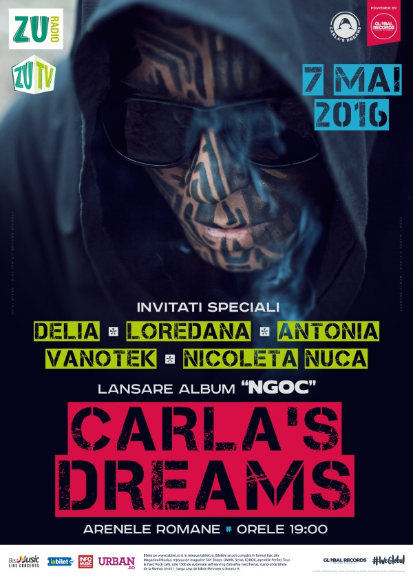 Carla's Dreams la Arenele Romane
