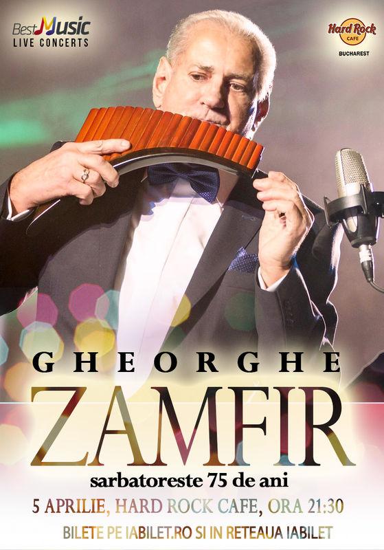 Gheorghe Zamfir la Hard Rock Cafe