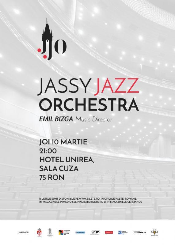 Jassy Jazz Orchestra la Hotel Unirea