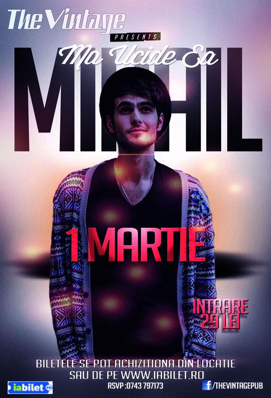 Mihail la Vintage Pub
