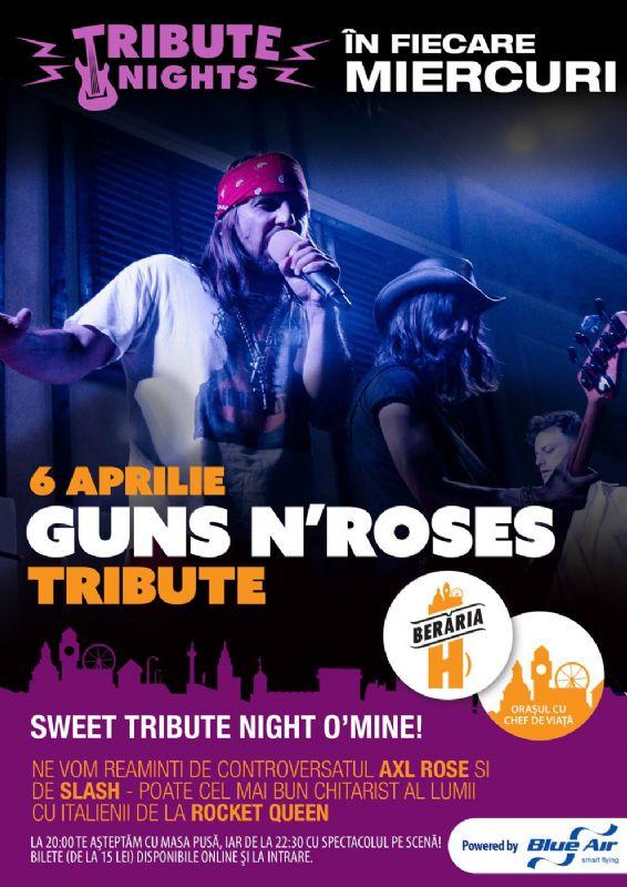 Guns'n'Roses Tribute la Berăria H