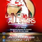 Afiș Dance All Stars 2016