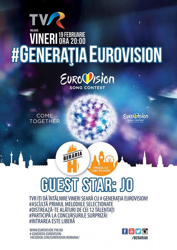 #GeneratiaEurovision la Berăria H