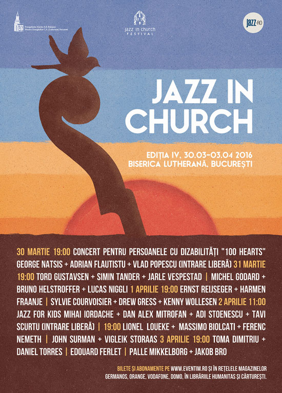 Afiș Jazz in Church Festival 2016