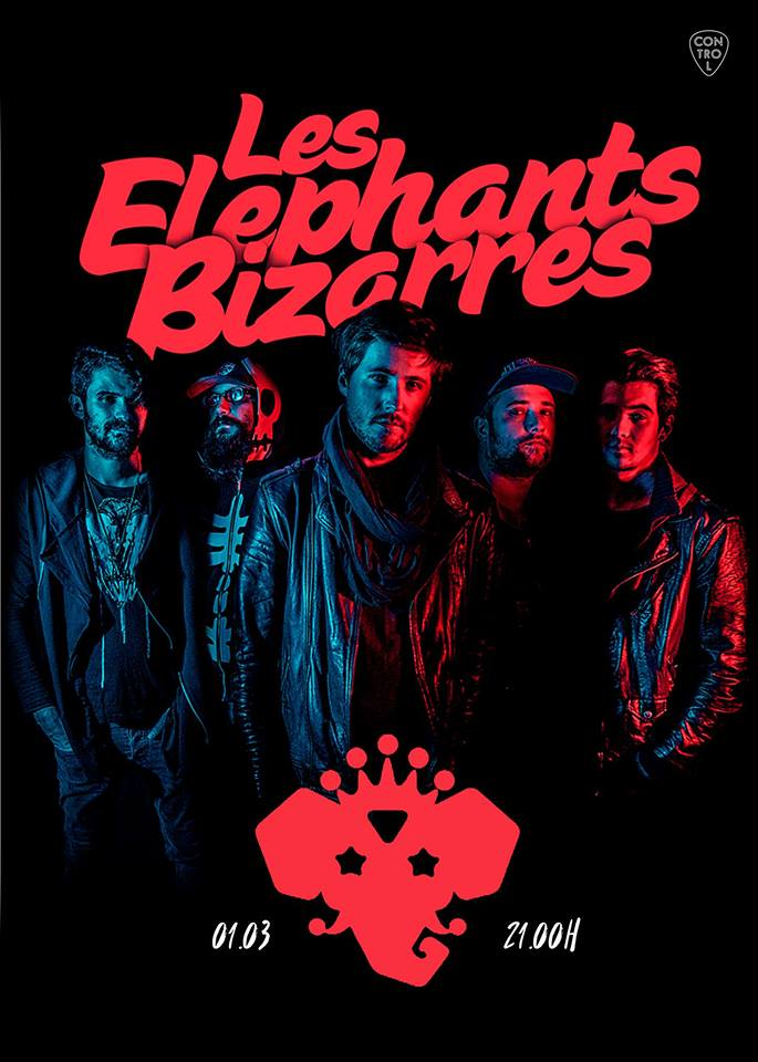 Les Elephants Bizarres la Club Control
