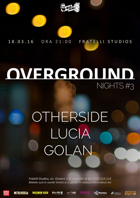 Overground Nights 3