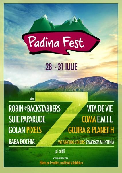 Afiş Padina Fest 2016