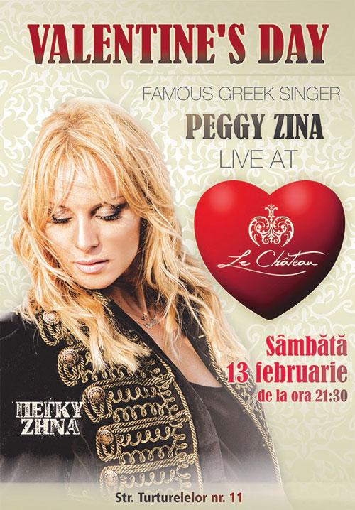 Afiş Peggy Zina Concert Le Chateau 2016