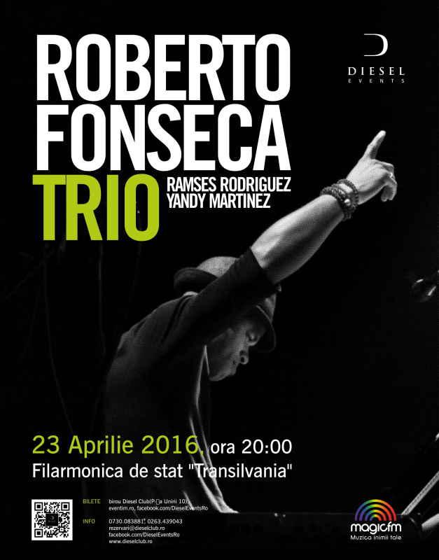 Afiş Roberto Fonseca Concert Cluj Napoca 2016