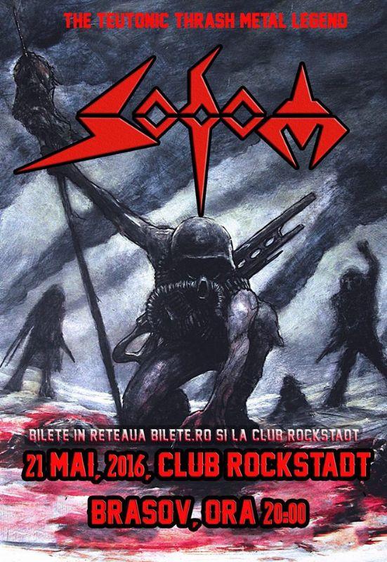Afiş Sodom Concert Brasov 2016