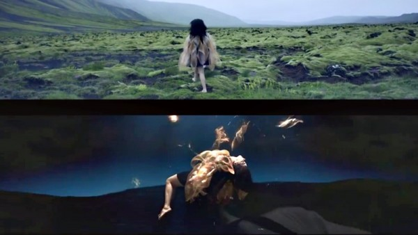 björk: black lake (two screen version)