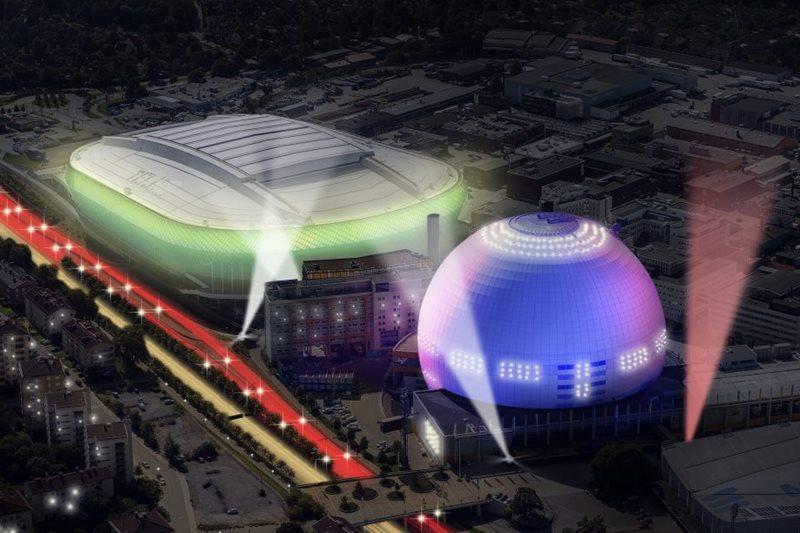 Globe Arena din Stockholm