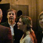 Paul Mccartney și Beck la un Grammy after-party