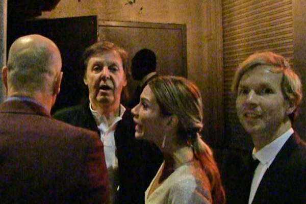 Paul Mccartney și Beck la un Grammy after-party