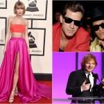 Taylor Swift / Mark Ronson & Bruno Mars / Ed Sheeran @Grammy 2016