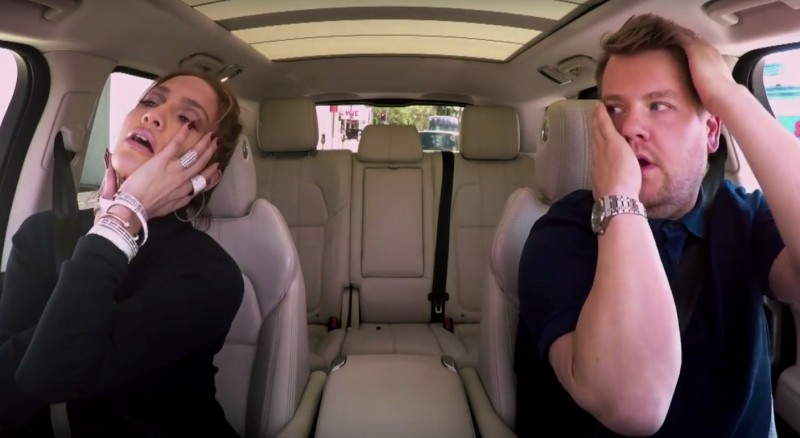 J.Lo și James Corden