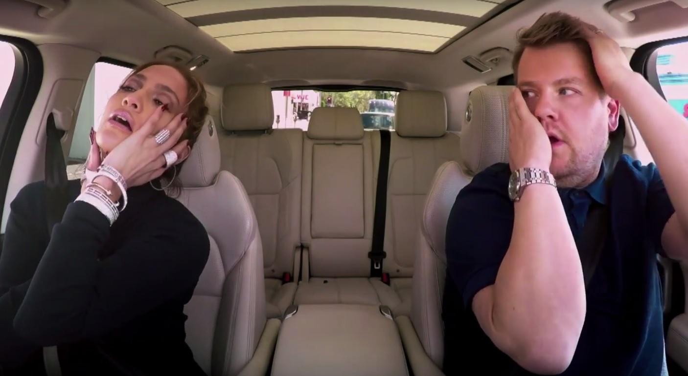 J.Lo și James Corden
