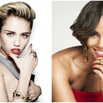 Miley Cyrus and Alicia Keys