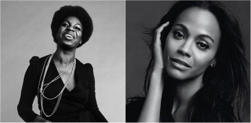 Nina Simone & Zoe Saldana