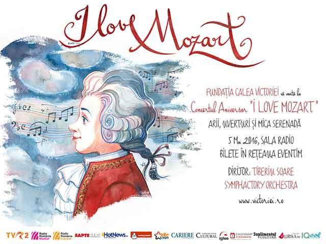 """Concert aniversar """"I love Mozart"""" la Sala Radio"""