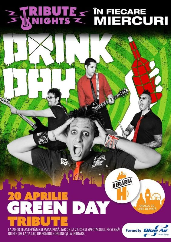 Green Day Tribute la Berăria H
