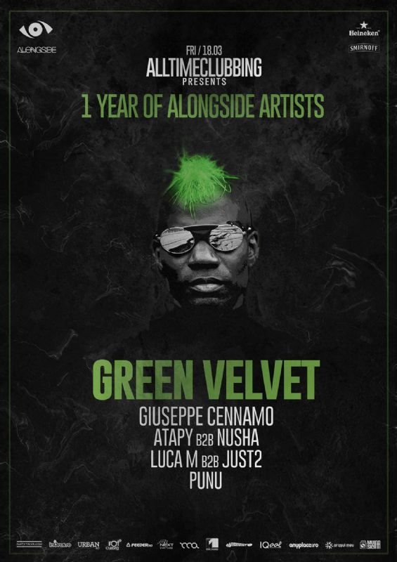 Green Velvet la Terra Events Hall