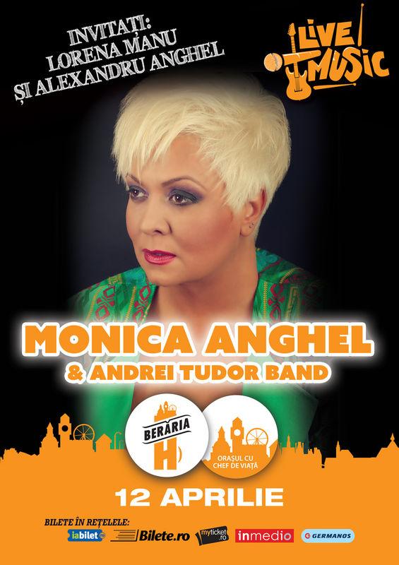 Monica Anghel & Andrei Tudor Band la Berăria H