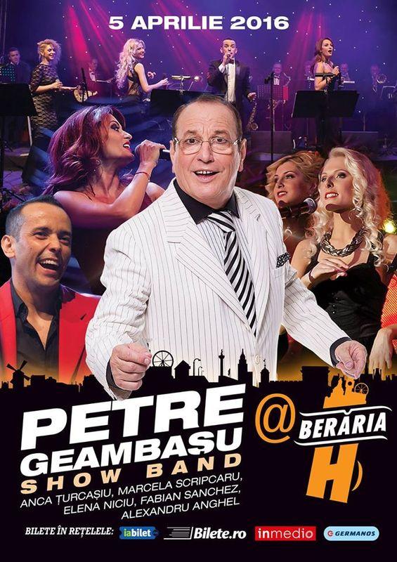 Petre Geambașu Band la Berăria H