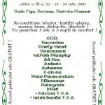 Afiș Festivalul Celtic Transilvania 2016