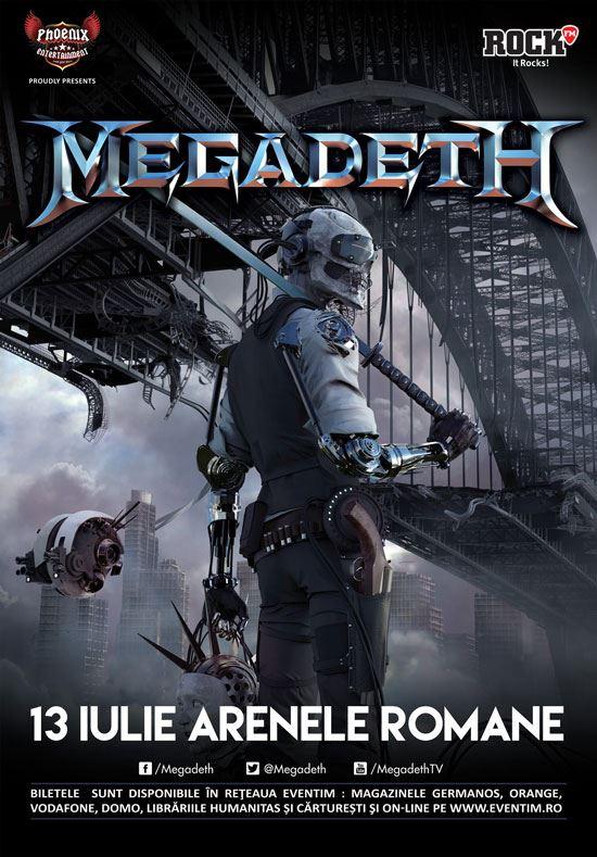 Megadeth la Arenele Romane