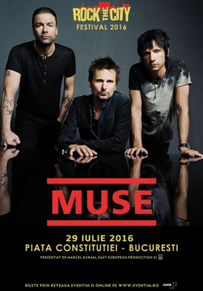 Poster eveniment Muse