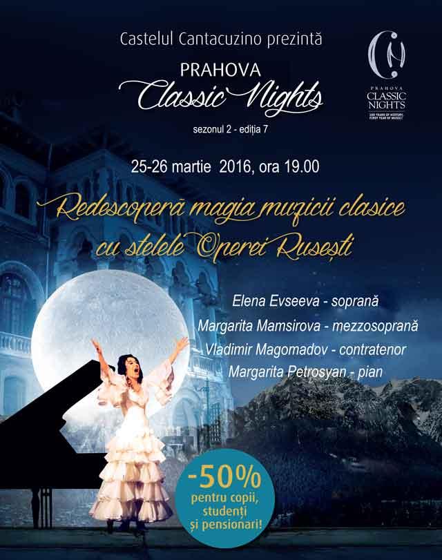 Afiș Prahova Classic Nights 2016