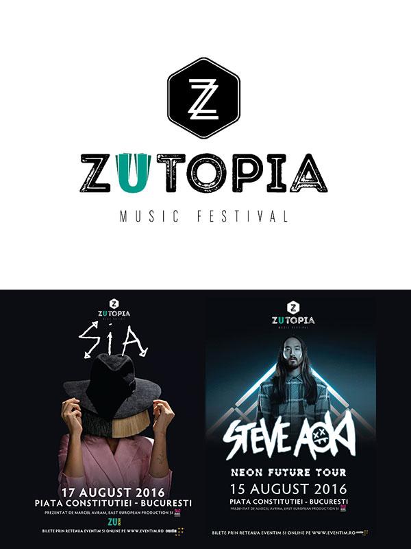 ZUtopia Music Festival 2016 la Piața Constituției