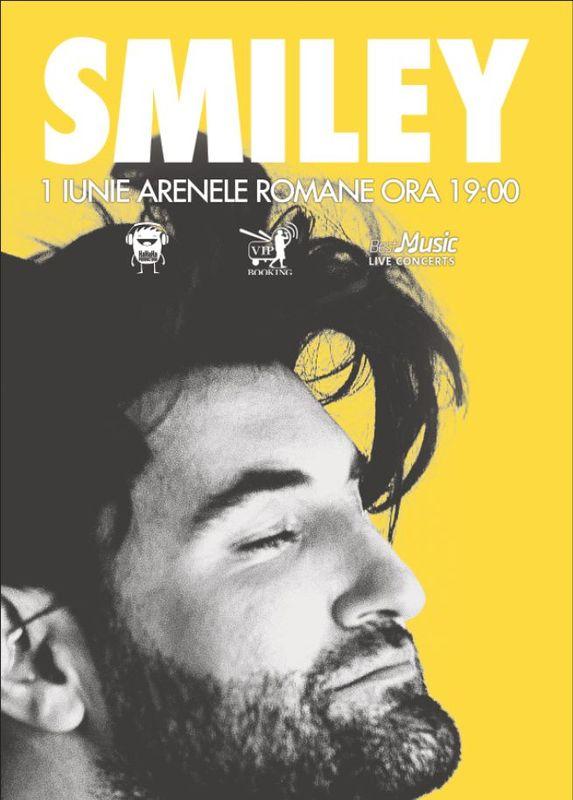 Afis Smiley Concert Arenele Romane 2016