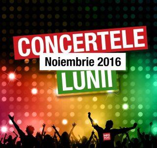 Concerte Noiembrie 2016