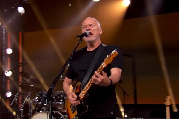 David Gilmour, live@Jimmy Kimmel