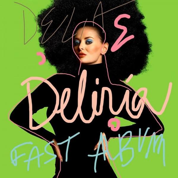 "Delia - ""Deliria"" (copertă)"