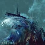 Fluturi pe Asfalt - Munți sub Mări (copertă album)