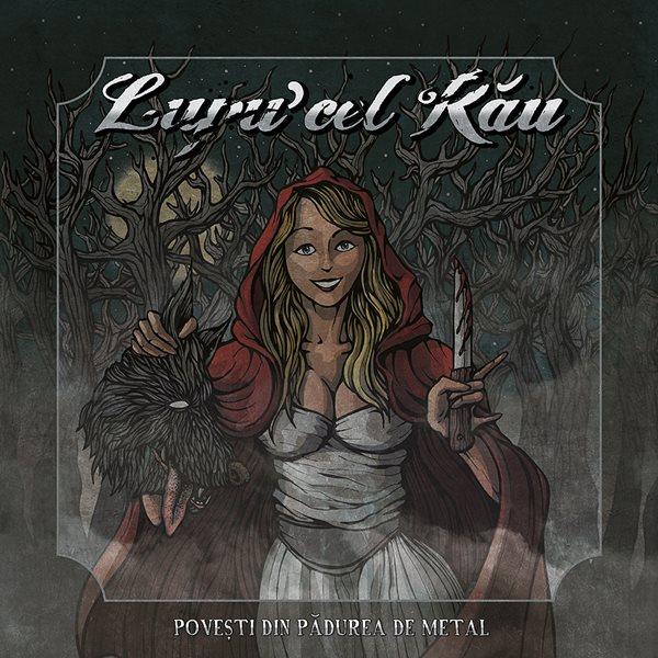 Lupu' cel Rău - Povești din pădurea de metal (copertă album)