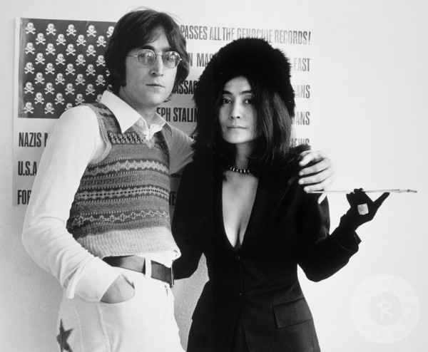 John Lennon și Yoko Ono